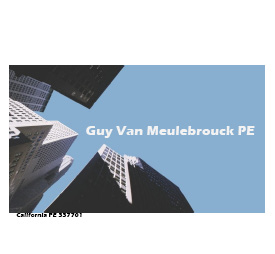 Guy Van Meulebrouck PE  consulting engineer